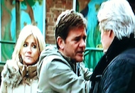 Karl Stella Coronation Street Corrie Corner   11th March 2012