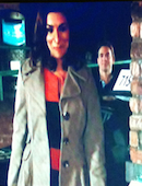 Karl Sunita Coronation Street Corrie Corner   11th March 2012
