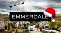 Emmerdale Christmas logo A feast of Charity at her fiesty and funny best