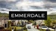 Emmerdale logo2012 Bye, pet. Everyone in floods as Amy sailed off to Ireland