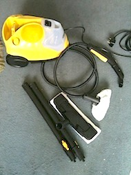 Karcherparts Kärcher Steam Cleaner SC 2.500 C Review: 3rd April 2013