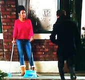 Tina Peter Coronation Street The truth always comes out in the end   sooner please!